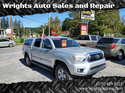 2012 Toyota Tacoma for sale at Wrights Auto Sales and Repair in Dolgeville NY