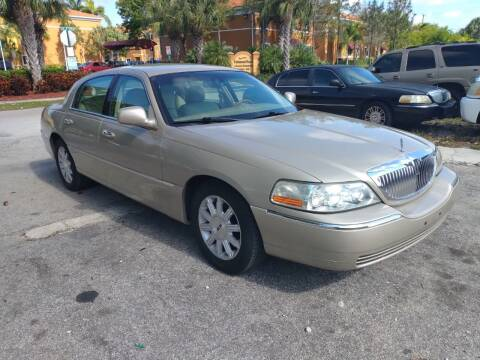 2008 Lincoln Town Car for sale at LAND & SEA BROKERS INC in Deerfield FL