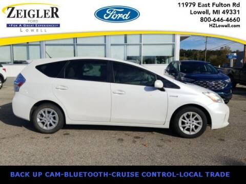 2014 Toyota Prius v for sale at Zeigler Ford of Plainwell- michael davis in Plainwell MI