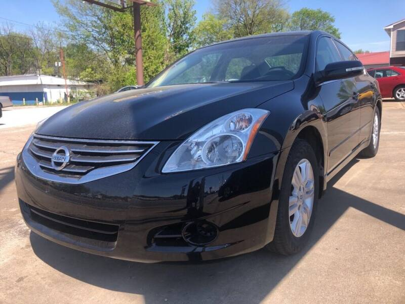 2012 Nissan Altima for sale at Wolff Auto Sales in Clarksville TN