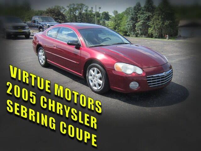2005 Chrysler Sebring for sale at Virtue Motors in Darlington WI