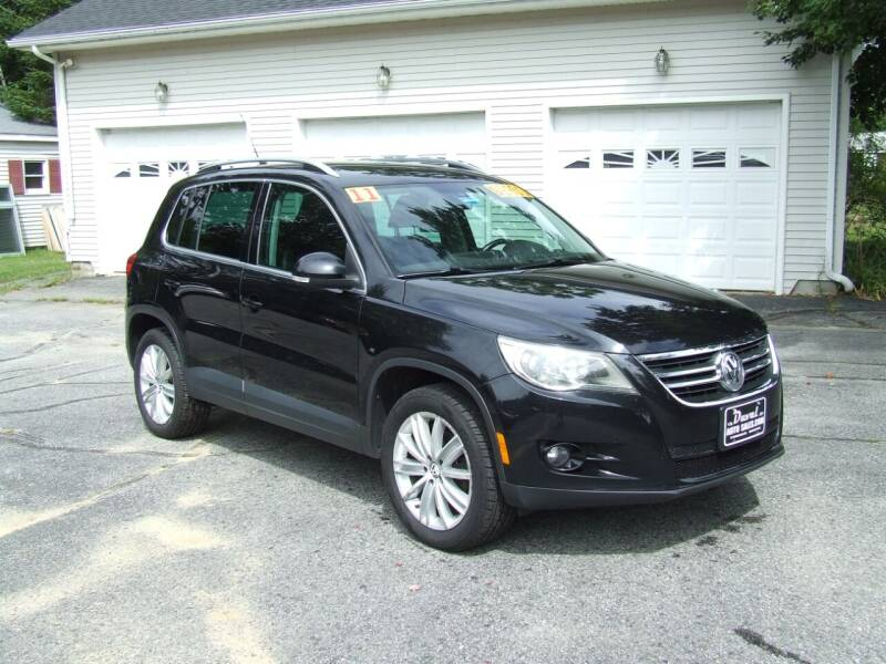 2011 Volkswagen Tiguan for sale at DUVAL AUTO SALES in Turner ME