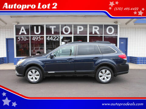 2012 Subaru Outback for sale at Autopro Lot 2 in Sunbury PA