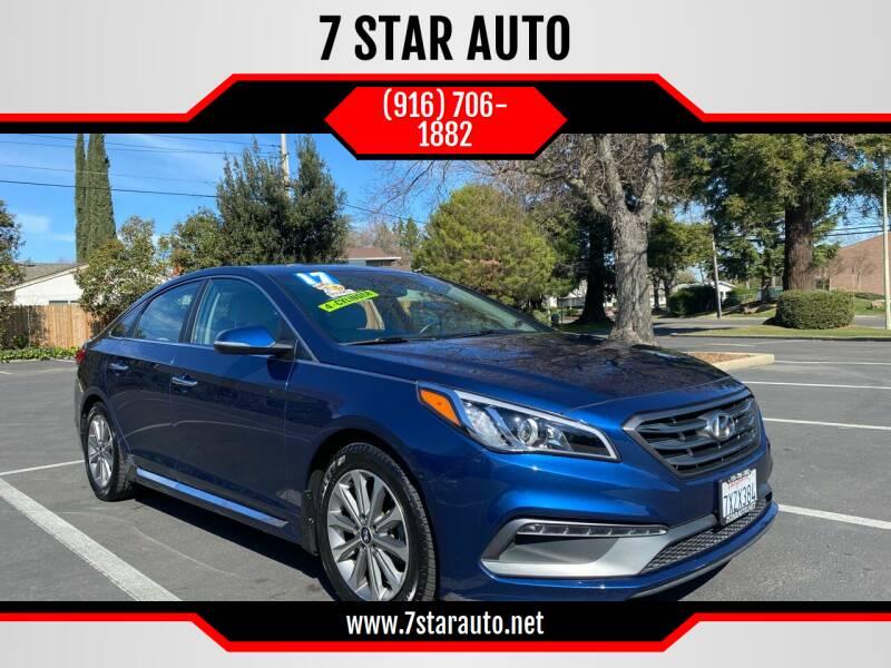 2017 Hyundai Sonata for sale at 7 STAR AUTO in Sacramento CA