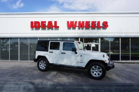 2015 Jeep Wrangler Unlimited for sale at Ideal Wheels in Sioux City IA