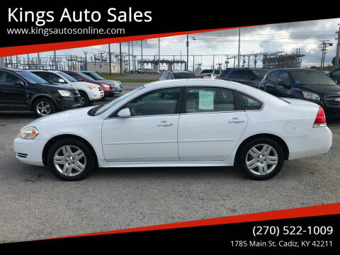 2014 Chevrolet Impala Limited for sale at Kings Auto Sales in Cadiz KY