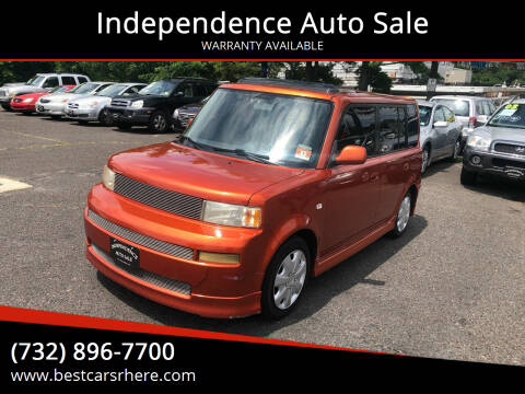 2004 Scion xB for sale at Independence Auto Sale in Bordentown NJ