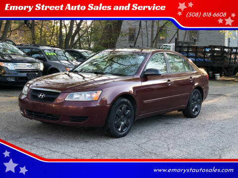 2008 Hyundai Sonata for sale at Emory Street Auto Sales and Service in Attleboro MA