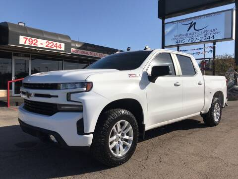 2019 Chevrolet Silverado 1500 for sale at NORRIS AUTO SALES in Oklahoma City OK