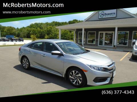 2016 Honda Civic for sale at McRobertsMotors.com in Warrenton MO