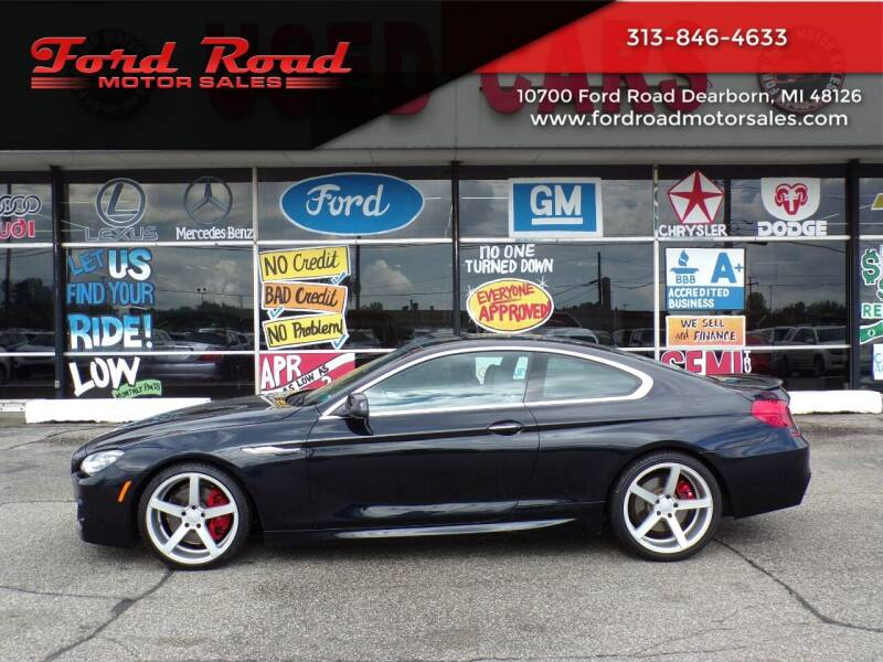 2012 BMW 6 Series for sale at Ford Road Motor Sales in Dearborn MI