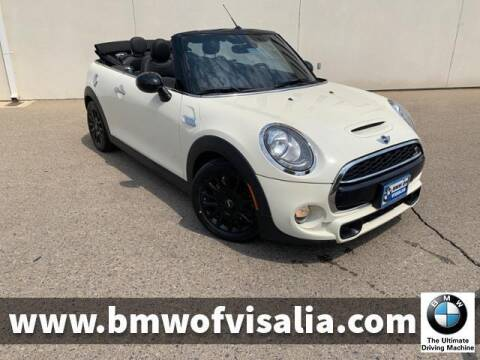 2017 MINI Convertible for sale at BMW OF VISALIA in Visalia CA