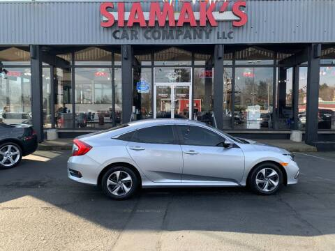2019 Honda Civic for sale at Siamak's Car Company llc in Salem OR