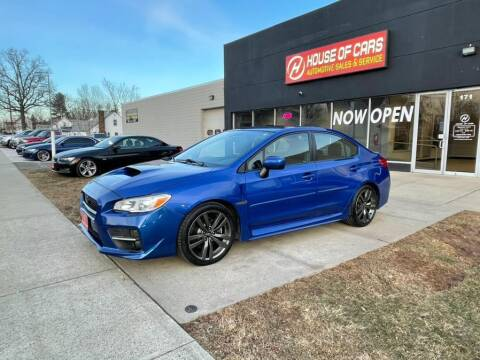 2017 Subaru WRX for sale at HOUSE OF CARS CT in Meriden CT