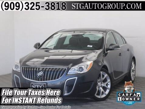 2017 Buick Regal for sale at STG Auto Group in Montclair CA
