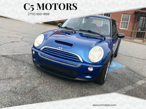 2006 MINI Cooper for sale at C5 Motors in Marietta GA