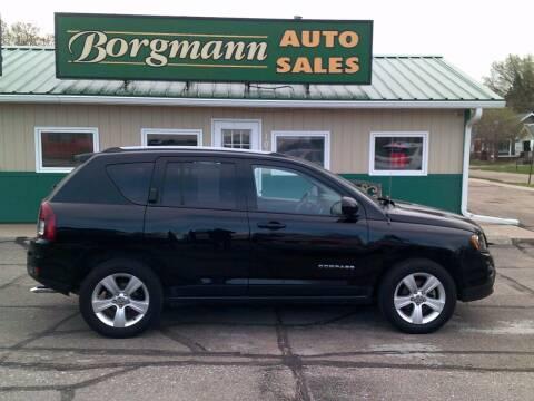 2016 Jeep Compass for sale at Borgmann Auto Sales in Norfolk NE