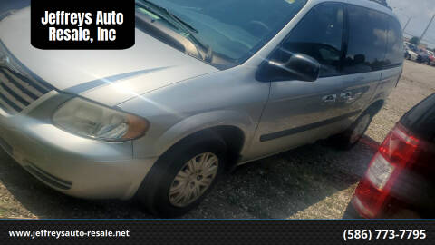 2005 Chrysler Town and Country for sale at Jeffreys Auto Resale, Inc in Clinton Township MI