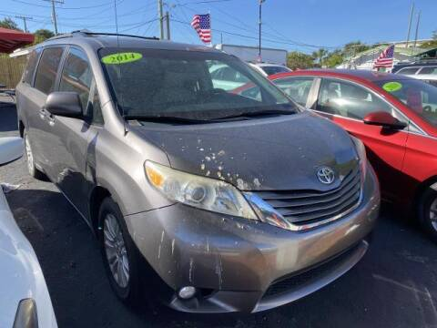 2014 Toyota Sienna for sale at Mike Auto Sales in West Palm Beach FL