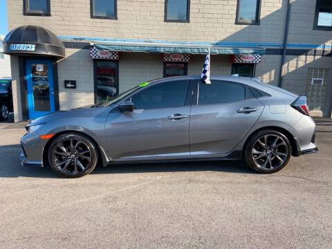 2017 Honda Civic for sale at Sisson Pre-Owned in Uniontown PA