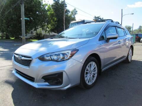 2017 Subaru Impreza for sale at PRESTIGE IMPORT AUTO SALES in Morrisville PA