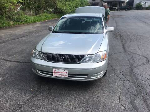 2001 Toyota Avalon for sale at Stan's Auto Sales Inc in New Castle PA