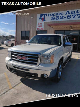 2013 GMC Sierra 1500 for sale at TEXAS AUTOMOBILE in Houston TX