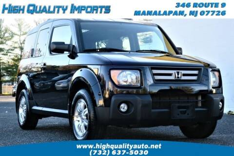 2007 Honda Element for sale at High Quality Imports in Manalapan NJ