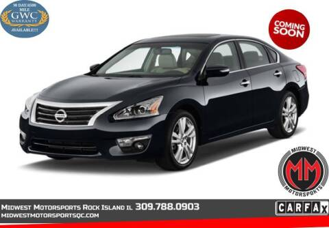 2015 Nissan Altima for sale at MIDWEST MOTORSPORTS in Rock Island IL