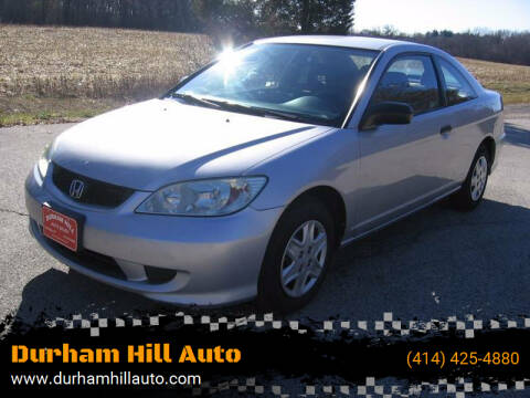 2004 Honda Civic for sale at Durham Hill Auto in Muskego WI