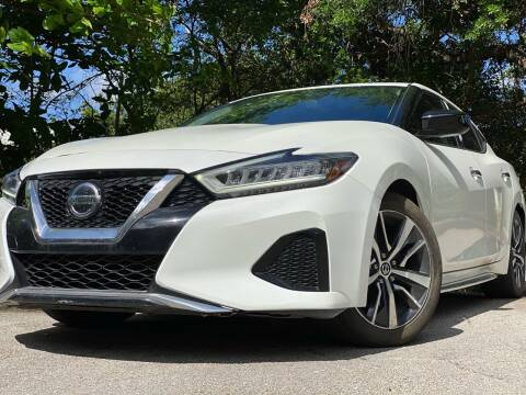 2019 Nissan Maxima for sale at HIGH PERFORMANCE MOTORS in Hollywood FL
