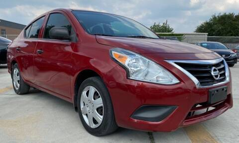 2015 Nissan Versa for sale at DYNAMIC AUTO GROUP in Houston TX