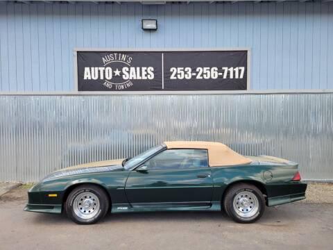 1992 Chevrolet Camaro for sale at Austin's Auto Sales in Edgewood WA