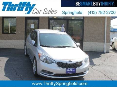 2016 Kia Forte for sale at Thrifty Car Sales Springfield in Springfield MA