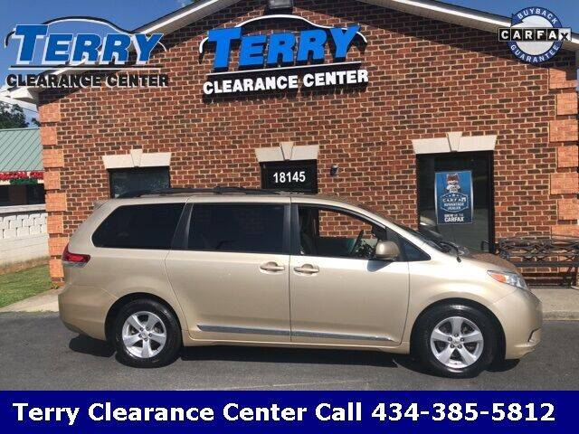 2014 Toyota Sienna for sale at Terry Clearance Center in Lynchburg VA