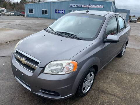 2009 Chevrolet Aveo for sale at JEFF LEE AUTOMOTIVE in Glasgow KY