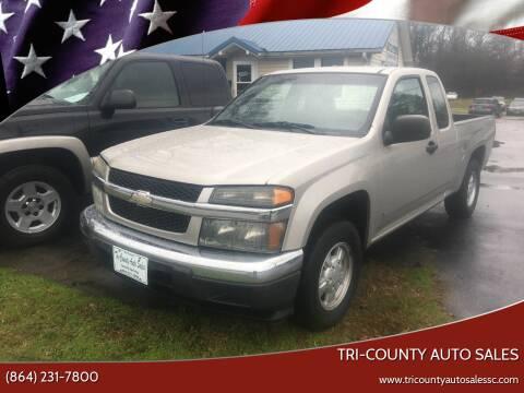 2007 Chevrolet Colorado for sale at Tri-County Auto Sales in Pendleton SC