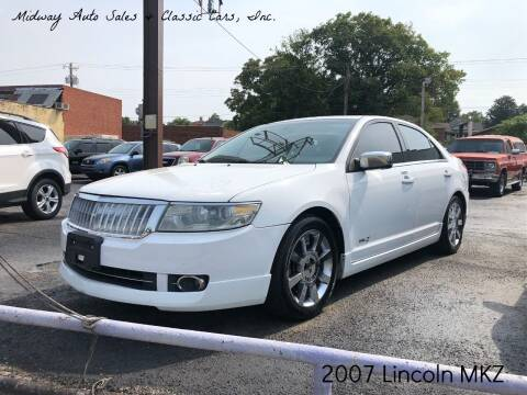 2007 Lincoln MKZ for sale at MIDWAY AUTO SALES & CLASSIC CARS INC in Fort Smith AR