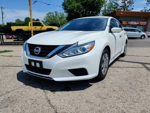 2016 Nissan Altima for sale at Lamarina Auto Sales in Dearborn Heights MI