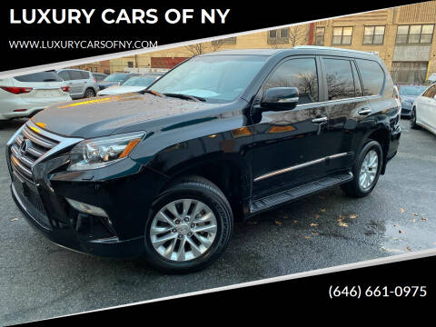 2018 Lexus GX 460 for sale at LUXURY CARS OF NY in Queens NY