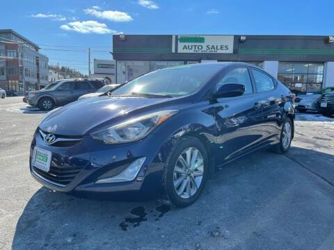 2014 Hyundai Elantra for sale at Wakefield Auto Sales of Main Street Inc. in Wakefield MA