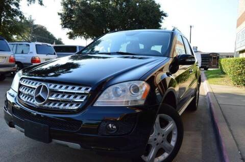2008 Mercedes-Benz M-Class for sale at E-Auto Groups in Dallas TX