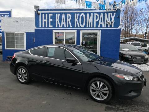 2009 Honda Accord for sale at The Kar Kompany Inc. in Denver CO