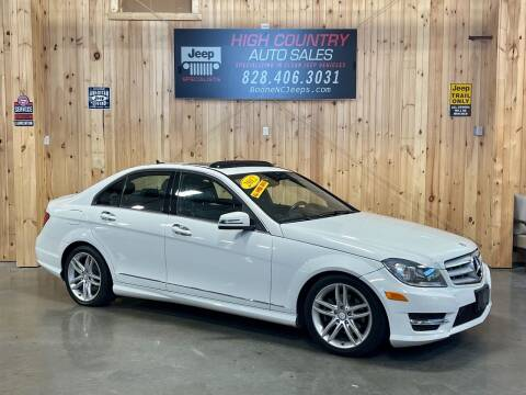 2012 Mercedes-Benz C-Class for sale at Boone NC Jeeps-High Country Auto Sales in Boone NC