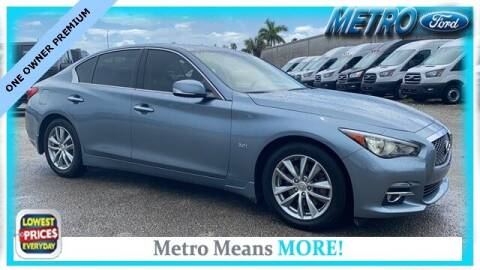 2017 Infiniti Q50 for sale at Your First Vehicle in Miami FL