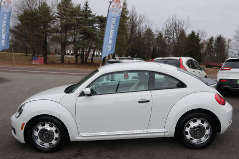 2015 Volkswagen Beetle for sale at GEG Automotive in Gilbertsville PA