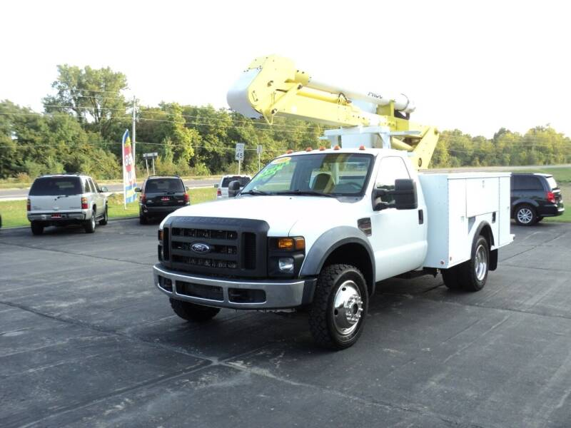 2008 Ford F-550 Super Duty for sale at A & S Auto and Truck Sales in Platte City MO