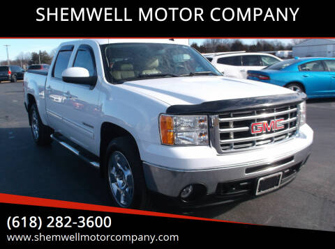 2011 GMC Sierra 1500 for sale at SHEMWELL MOTOR COMPANY in Red Bud IL