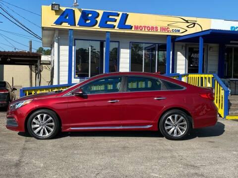 2016 Hyundai Sonata for sale at Abel Motors, Inc. in Conroe TX