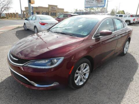 2015 Chrysler 200 for sale at AUGE'S SALES AND SERVICE in Belen NM